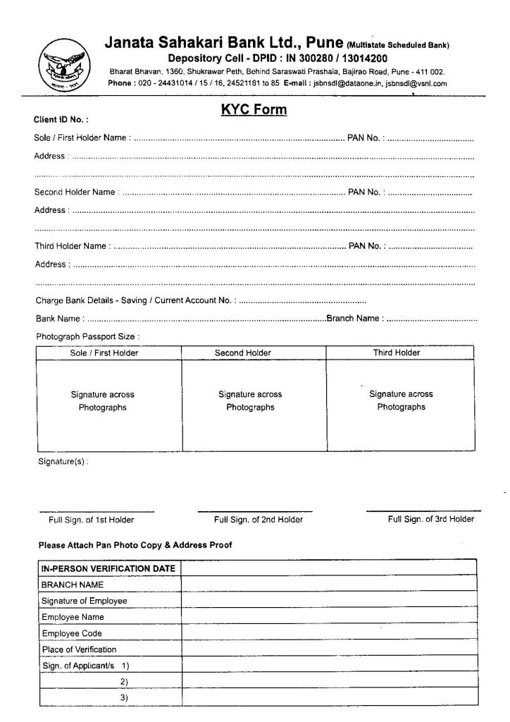 8 INSURANCE KYC FORM